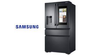 CES 2017 - Electrocasnice inteligente de la Samsung, Frigiderul Family Hub 2.0