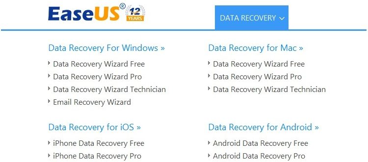 Concurs - EaseUS Data Recovery Wizard Pro