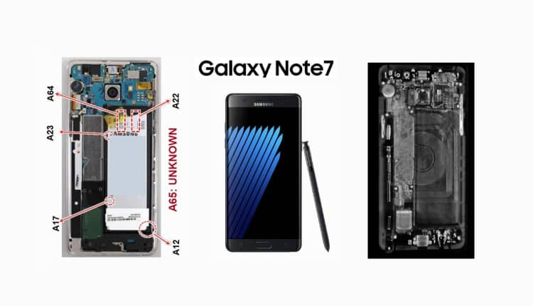 Samsung a anuntat cauza incidentelor Galaxy Note7 Bateria
