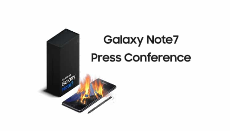 Urmeaza sa aflam de ce lua foc Samsung Galaxy Note7!