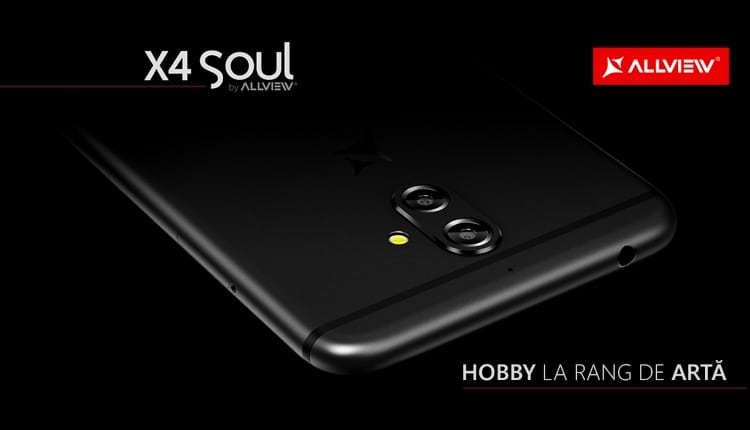 Allview a lansat X4 Soul, primul smartphone cu dual camera