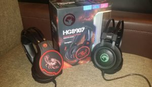 Unboxing si scurt review casti de gaming Marvo Scorpion HG8907