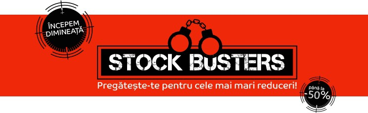eMAG Stock Busters 21 Februarie 2017