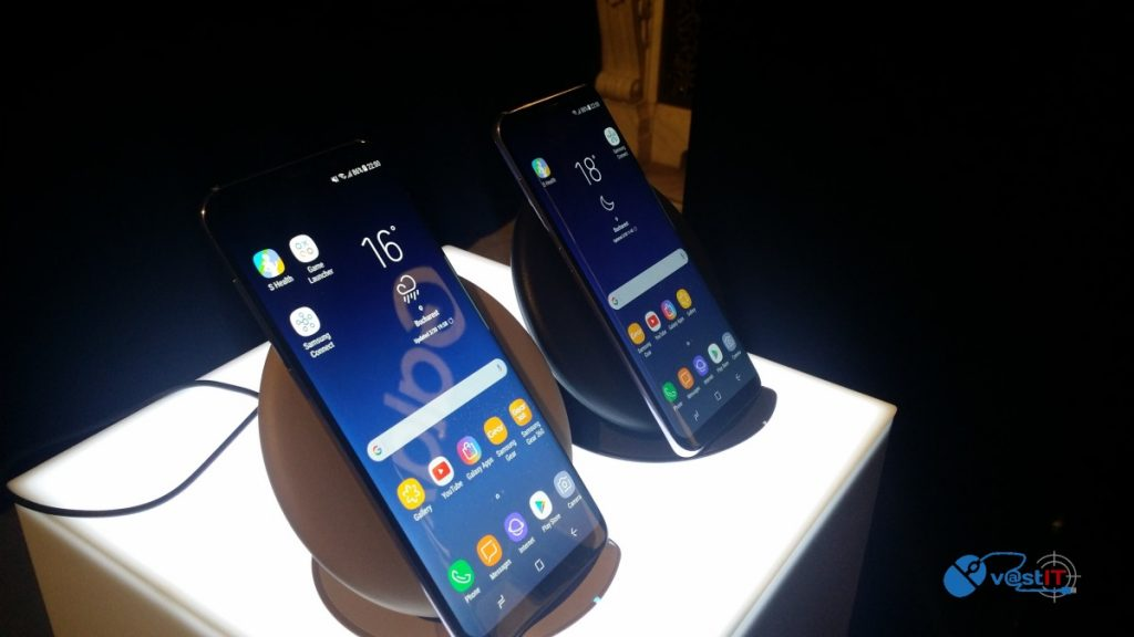 Galaxy S8 si S8 Plus-Lansare oficiala in Romania & Hands-on pe stand