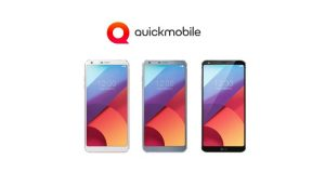 LG G6 la precomanda in Romania prin QuickMobile-pret si specificatii