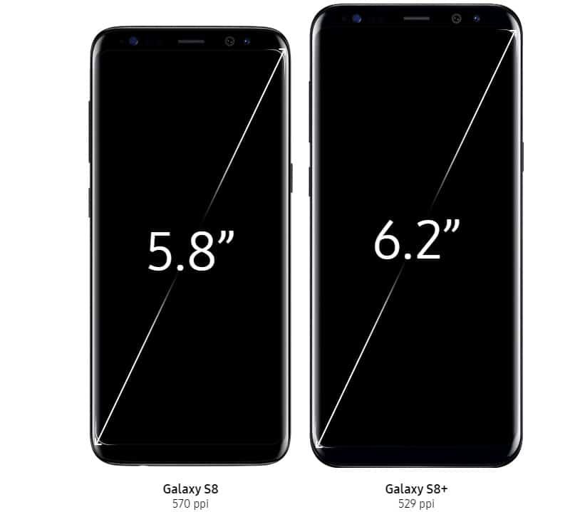 Samsung Galaxy S8 si S8 Plus au fost lansate-pret si specificatii-ecran