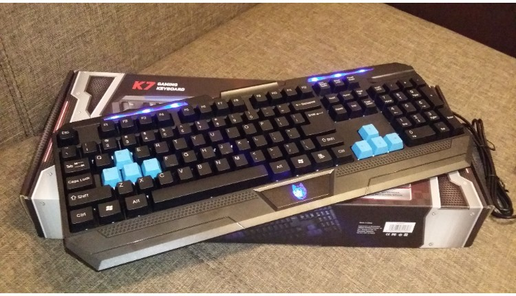 Tastatura de Gaming Waterproof A+ K7