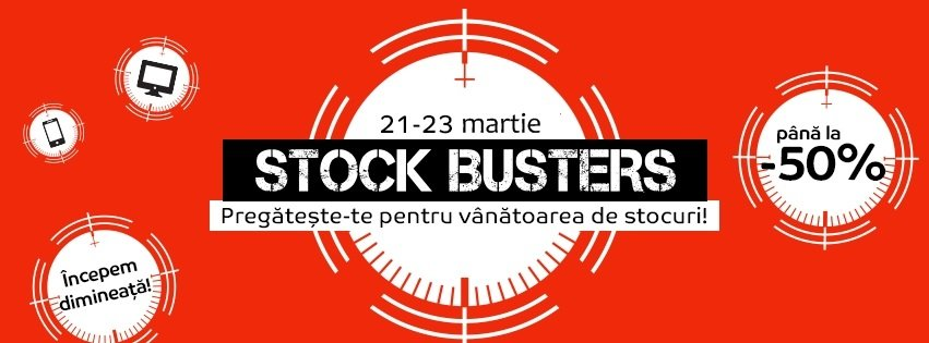 eMAG Stock Busters 21 Martie 2017