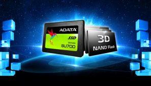 ADATA a lansat Ultimate SU700, un nou SSD 3D NAND