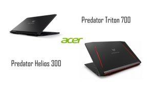 Acer Predator Helios 300 si Predator Triton 700, noi notebook-uri de gaming