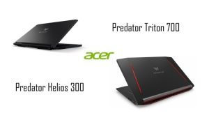 Acer Predator Helios 300 si Predator Triton 700