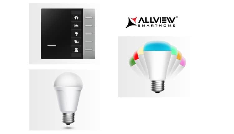 Allview Smart Home se extinde cu becuri inteligente si comutator wireless