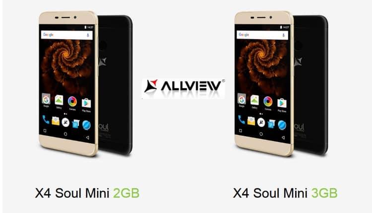 Allview X4 Soul mini s-a lansat