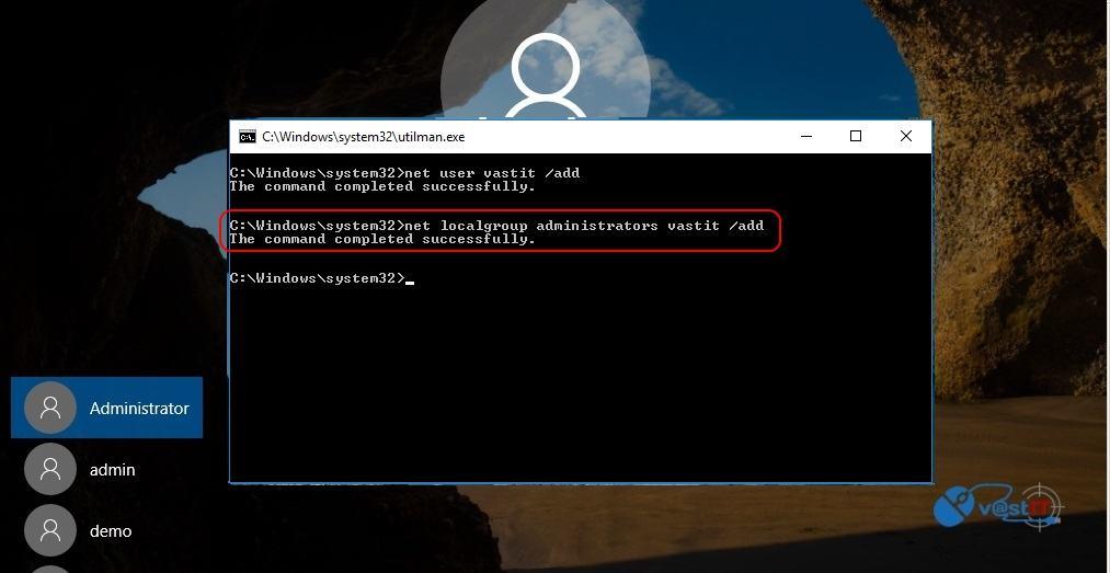 Recuperare parola de Windows 10, chiar si pentru contul Administrator-addgroupadm