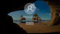 Recuperare (resetare/schimbare) parola de Windows 10, chiar si pentru contul Administrator