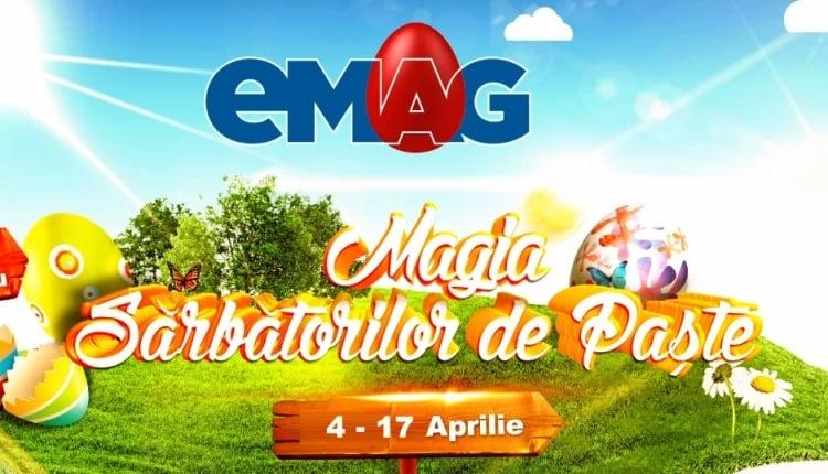 Reduceri de Paste la eMAG 2017