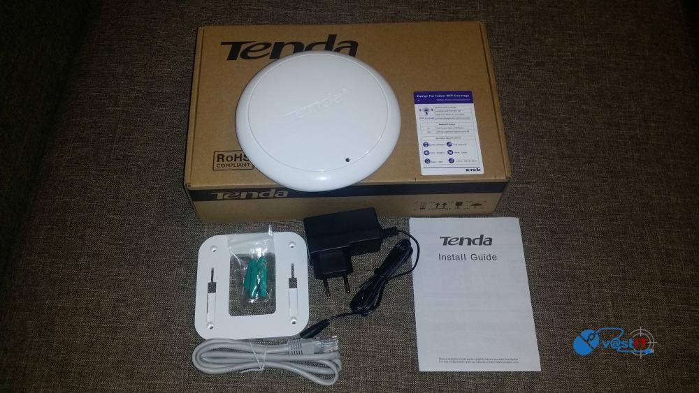 Unboxing Access Point Tenda i6 N300