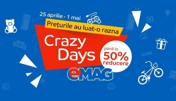 eMAG Crazy Days, 25 aprilie - 1 mai 2017-ss