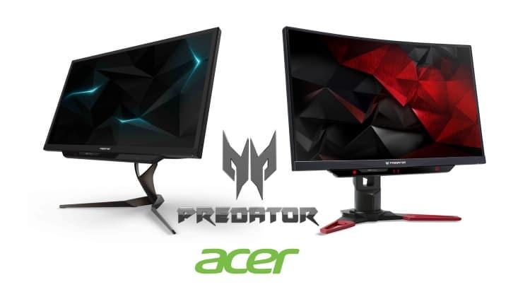 Acer Predator X27 si Predator Z271UV, noi monitoare de gaming