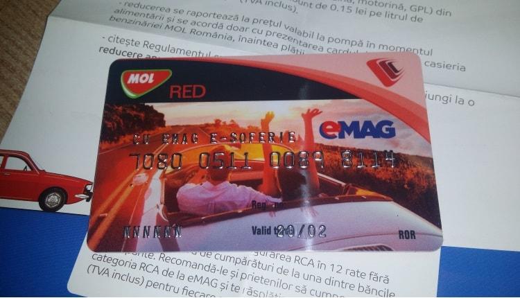 Prin programul e-soferie eMAG ofere reducere la benzina, motorina si GP!-1