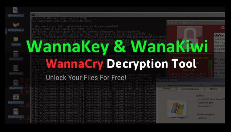 WannaKey si WanaKiwi -Tool gratuit pentru decriptarea calculatoarelor infectate de WannaCry-ss