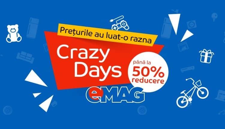 eMAG Crazy Days de 1 iunie 2017