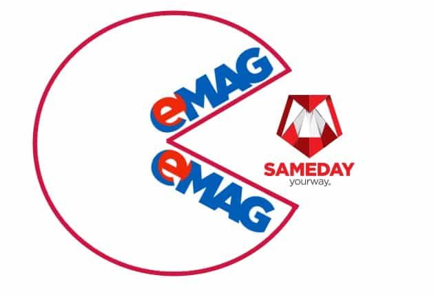 eMAG cumpara firma de curierat Sameday Courier