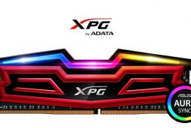 ADATA lanseaza XPG SPECTRIX D40 DDR4, memorii cu iluminare RGB