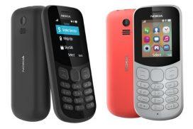 Nokia 105 si Nokia 130 - doua noi telefoane clasice (cu butoane) lansate de Nokia