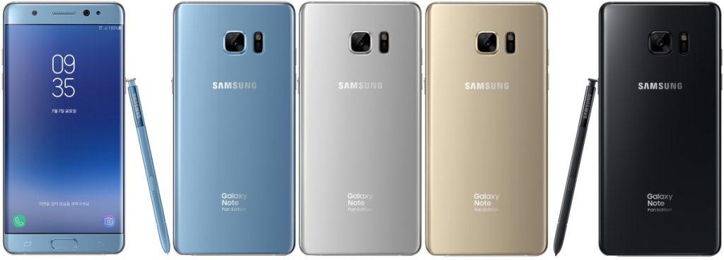 Samsung Galaxy Note7 Fan Edition va fi disponibil din 7 Iulie