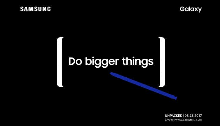 Samsung Galaxy Note8 se lanseaza pe 28 August