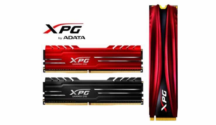 ADATA XPG GAMMIX - SSD GAMMIX S10 si DDR4 GAMMIX D10 ss