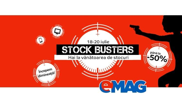 eMAG Stock Busters 18 Iunie 2017