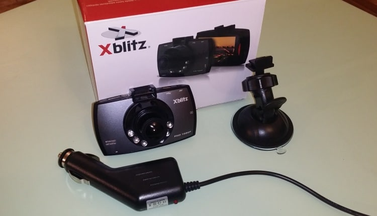 unboxing Camera Auto Xblitz Black Bird Blister