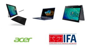 IFA Berlin 2017 - Acer lanseaza 3 notebook noi: Swift 5, Spin 5 si Switch 7 Black Edition