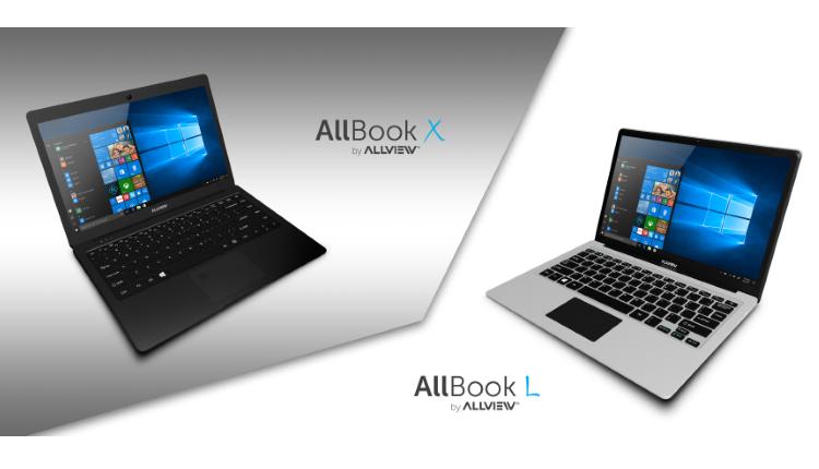 Allview a lansat doua notebook-uri - Allbook X si Allbook L