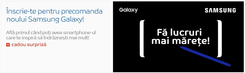 Galaxy Note8 precomanda la eMAG