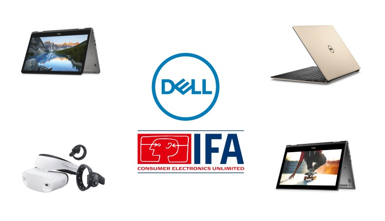 IFA Berlin 2017 - Dell Inspiron 7000, Premium Support Plus, XPS 13 si Dell Visor