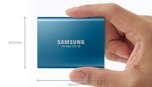 Samsung a lansat noul SSD Portabil T5 cu cele mai mari viteze de transfer