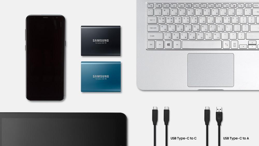 Samsung lanseaza noul SSD Portabil T5 cu cele mai mari viteze de transfer