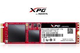 XPG SX9000 - noua memorie pentru Gameri de tip SSD de la ADATA