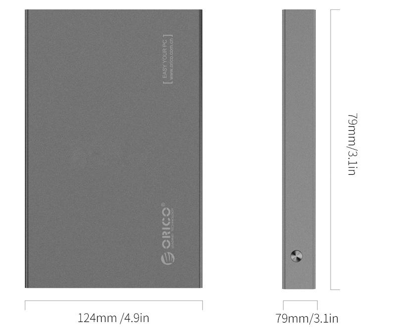 HDD-SSD Externa ORICO 2518S3