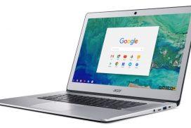 IFA Berlin 2017 - Acer lanseaza Chromebook 15, primul cu ecran de 15.6 inch
