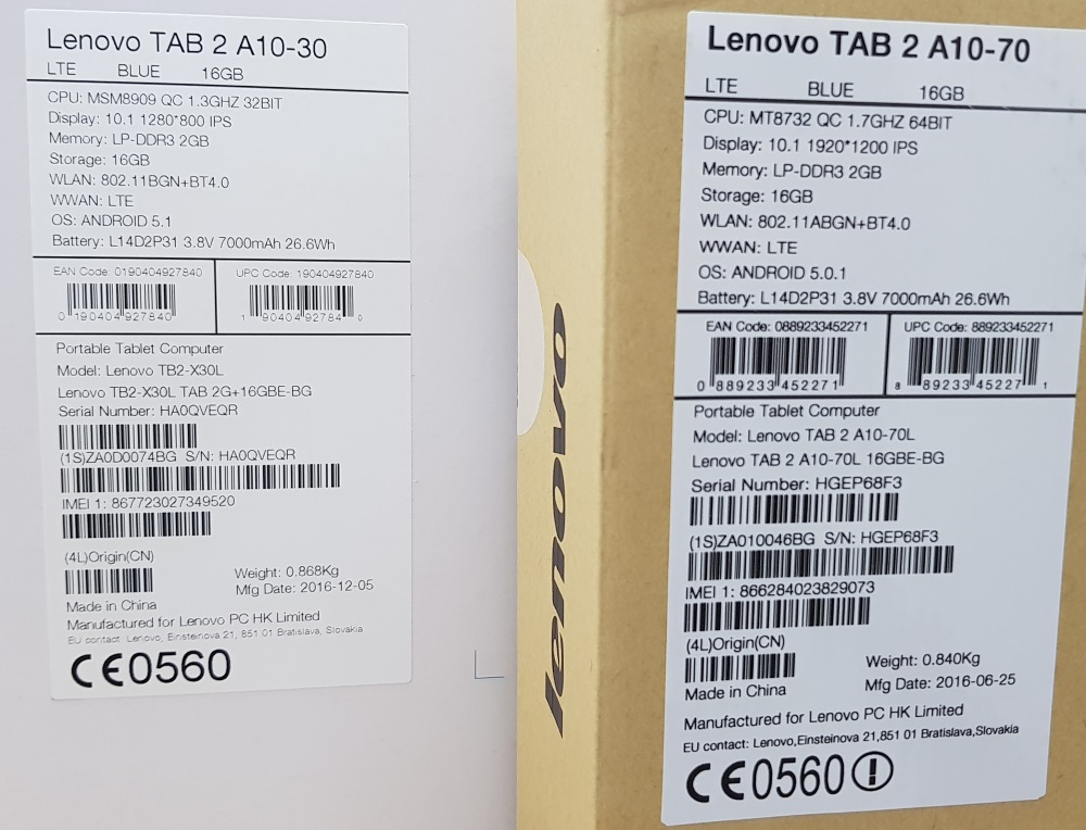 Unboxing si mini Review Lenovo Tab 2 A10-30