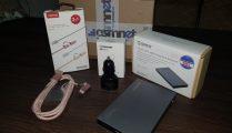 Unboxing surpriza cu produse de la gsmNET.ro: incarcator auto cu Fast charging si Volt IQ, cablu USB 2in1 Tip C-microUSB, rackHDD/SSD Extern