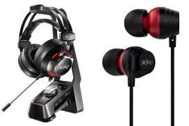 ADATA anunta trei noi produse dedicate segmentului audio de gaming-castile XPG EMIX H30 si I30 si amplificatorul SOLOX F30