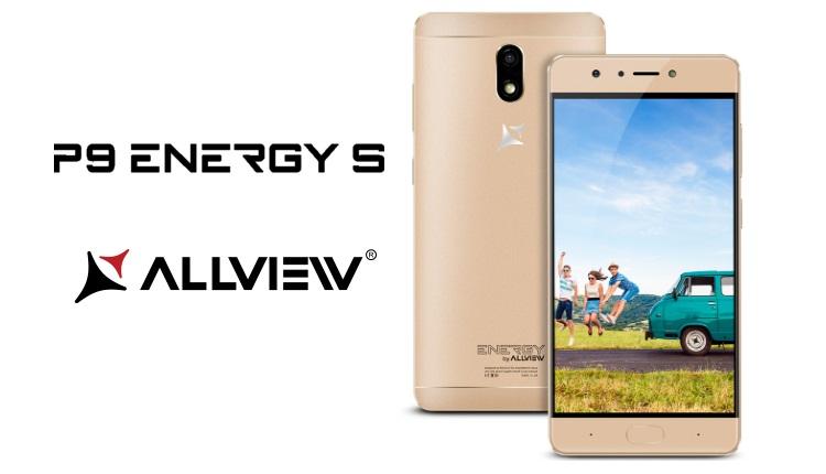 Allview a lansat P9 Energy S, un telefon pentru superselfie si fullenergy