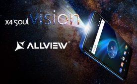 Allview a lansat X4 Soul Vision, un telefon cu proiectie laser portabila