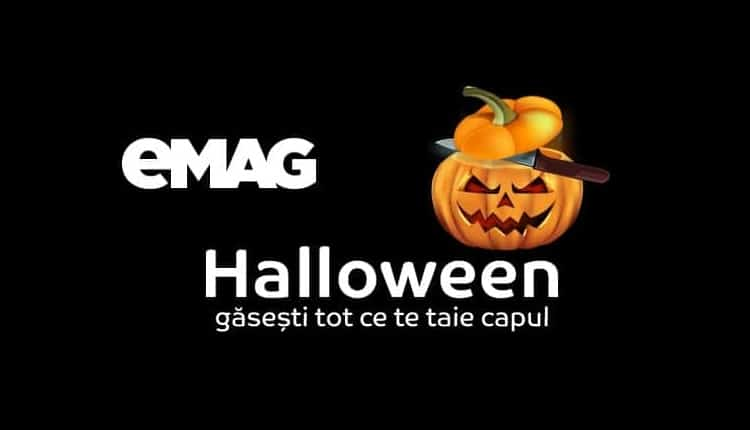 In scur timp incepe eMAG Halloween Crazy Days 2017