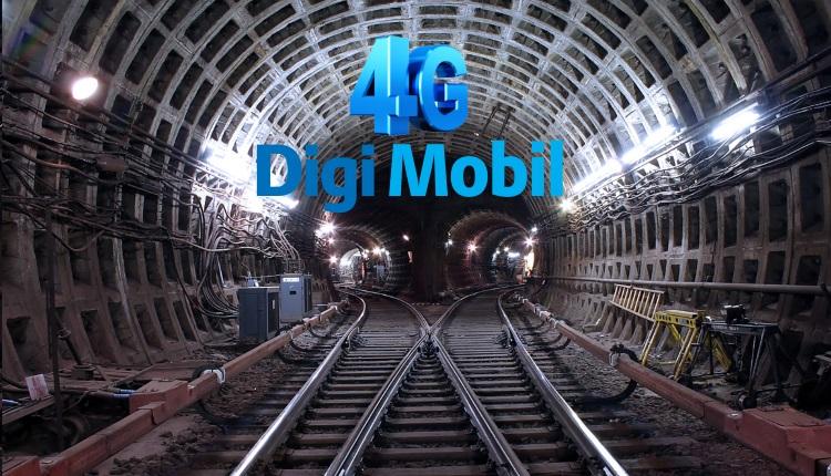 RCS RDS anunta acoperire integrala pentru Digi Mobil 4G in tunelurile metroului